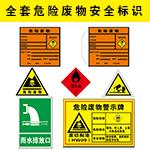 危险废物标志标签挂牌